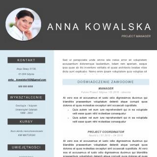 profesjonalny list motywacyjny i cv
