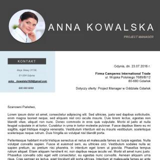 list motywacyjny dla profesjonalistów