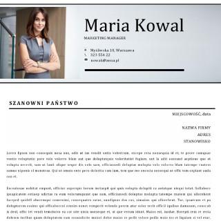 profesjonalny list motywacyjny