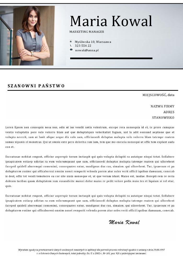 Profesjonalny List Motywacyjny Kreatorzy Kariery